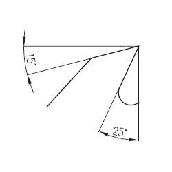 PILANA 5310 - 56KV25° Ø600...