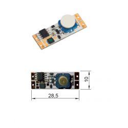LED mechanický vypínač 12/24V do profilů 90W/180W