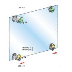 Pre sklenené dvere- vložené bez tlmenia